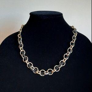 Vintage Lia Sophia Gold tone  Necklace